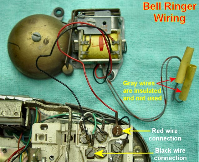 princess bellringerwiring western electric products telephones princess wiring diagram for old rotary phone at virtualis.co