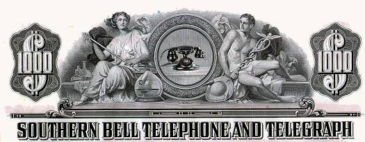 Southern Bell Telephone and Telegraph bond